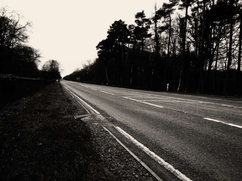 Kinmount Straight, Scotland's most haunted stretch of road